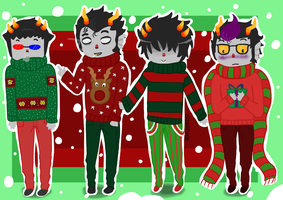 Merry Homestuck by uncle-sollux