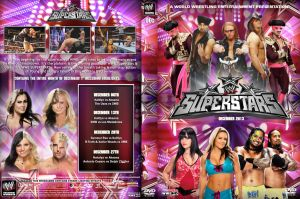 WWE Superstars December 2013 DVD Cover by Chirantha
