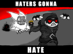 .:Haters Gonna Hate by ALZP
