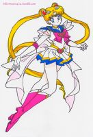 Super Sailor Moon by Mileyangel321