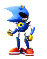 Metal Sonic by Fentonxd