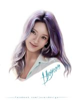 Hyoyeon by Jover-Design