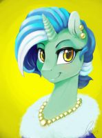 Lyra at the Gala by Balderdash999