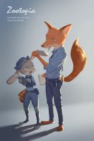 Zootopia by SANRODE
