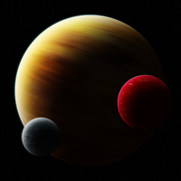 Class G with 2 Moons + Blur by L0rdDrake