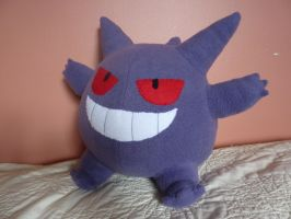 gengar Plushie by Plush-Lore