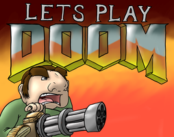 Lets Play DOOM! by MidnightQuill