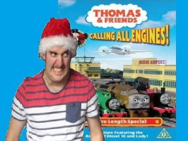 Thomascember Calling All Engines Title Card by Dalek44