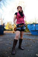 Claire Redfield Darkside Chronicles Cosplay by ChaoticClaire