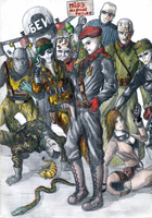 Metal Gear Solid All Stars by Impostor1