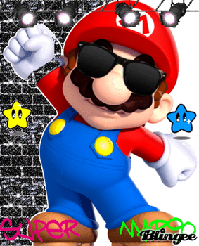 Cool Mario by NintendoUltraRuler