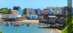 Tenby Harbour by JDS-photo