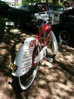 1953 Coca-Cola bicycle butt and fin photo by RoadTripDog