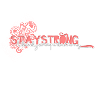 Texto Png StayStrong by SaanTheGannfCyrus