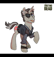 Trotting Dead - The Governor by PumpkinHipHop