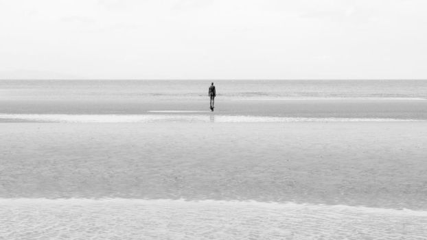 Lonely Figure by Dellboyy