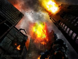 Crysis 2 Wallpaper by Xiox231