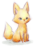 Golden Fox by Eledora