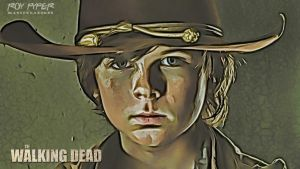 The Walking Dead: Carl: (Ver. 2) Desktop Redux by nerdboy69