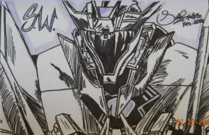 Transformers Prime sharpie project: Soundwave by x3Soap3x