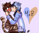Morby, besito by adoroloscomis234
