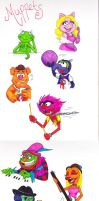 Muppets in Sharpies by Groovy-Gecko