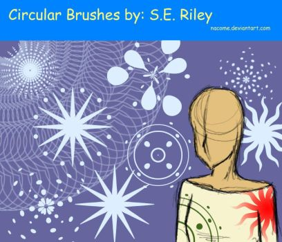 Circular Photoshop Brushes by Nacome