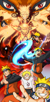 Naruto Evolution of a Hero! by JazylH