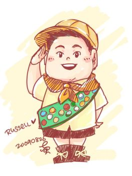 Russell UP by h0taru