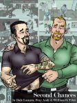 The cover of Second Chances, a gay erotic comic by DaleLaz