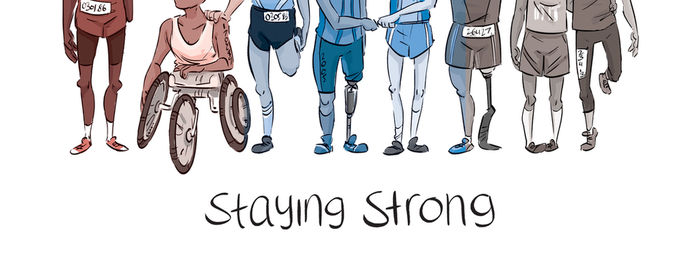 Staying strong by Lelpel