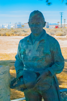 EAFB - Yeager Statue 2 by JVanover