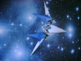 Arwing in the Stars by archus7