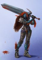 Jeff Perso Pathfinder by Lun-art