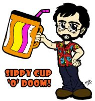 Sippy Cup 'O' Doom by octocentesquiderfish