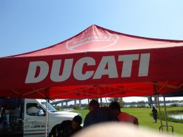 Ducati Tent by BackMasker