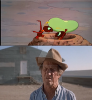 The Farmer's Reaction To The Ants by SmoothCriminalGirl16