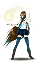Miku - AT with iHopelesss by Monochrome-Melody
