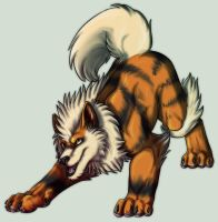Arcanine by MintyMaguire