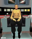 Captain Kirk by The-Mind-Controller