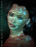 Neon Glow Light GELS poser+ds by ForbiddenWhispers