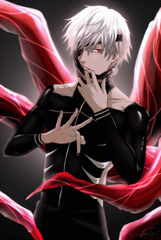 Behind The Mask | Tokyo Ghoul by DivineImmortality