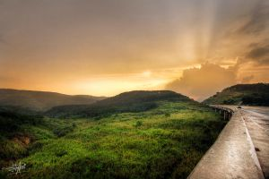 High Way Sunset by adityapudjo
