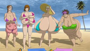 Beach Babes '15 by solios