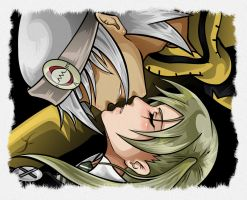 Maka x Soul by HeartlessLink