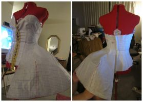 GE WIP Drafting skirt/bodice by shushuwafflez