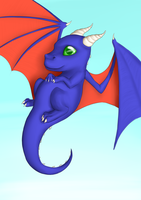 Cute dragon by Sireynia