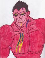 Red Hulk by GeotrixQueen