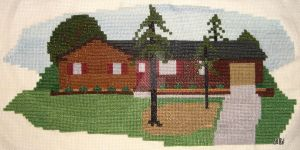 House Cross Stitch by DavisJes