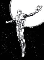 Daily Sketch Rom Space Knight by Paul-Moore